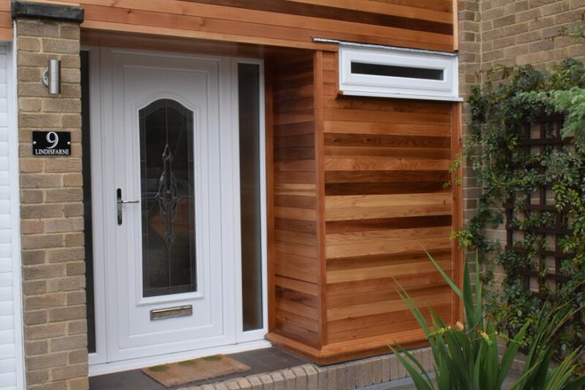 Cedar cladding can make any home look brand new.